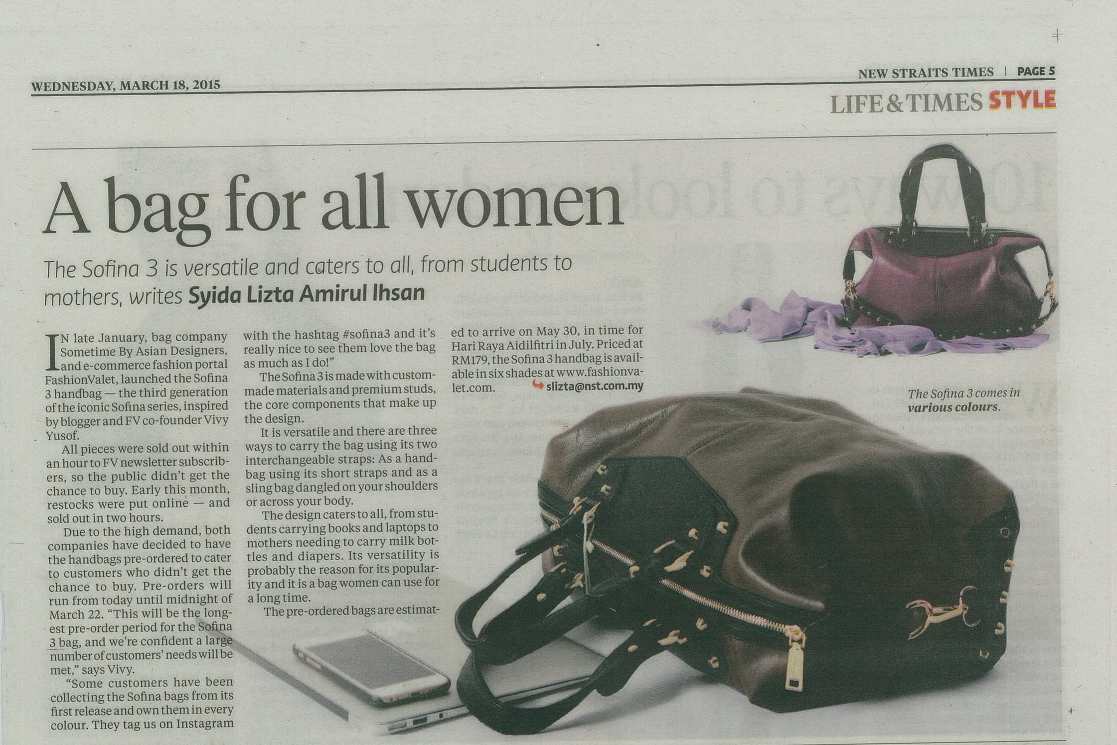 The New Straits Times - March